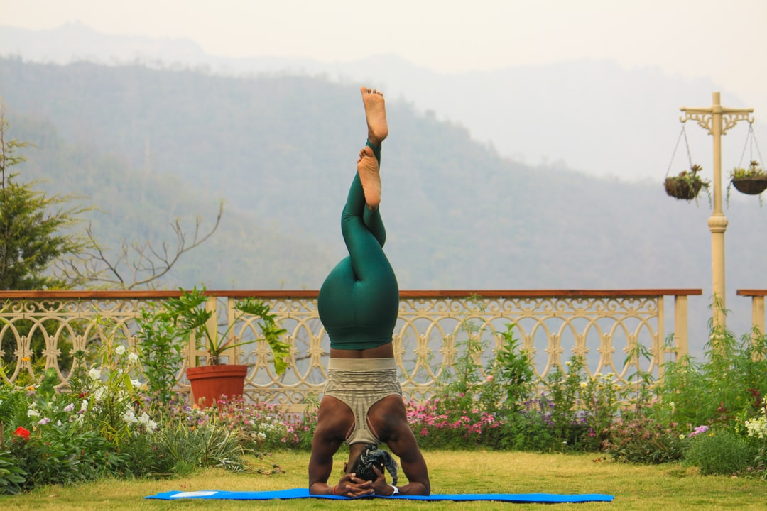Yoga Handstand